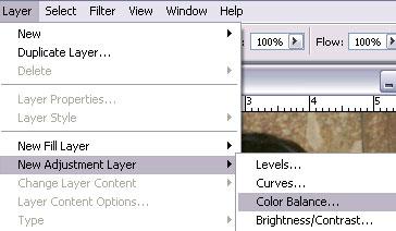 dialog New Layer akan tampil, klik OK untuk membuka kotak dialog Color